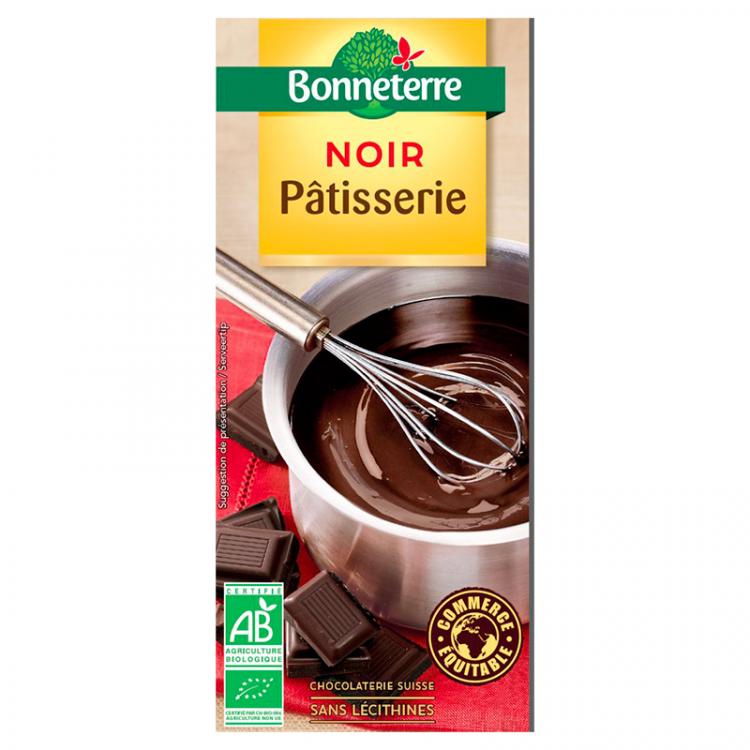 Chocolat noir pâtisserie 60% BIO, 200g