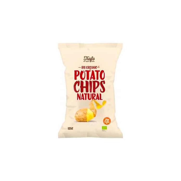 Chips salées BIO, 125g