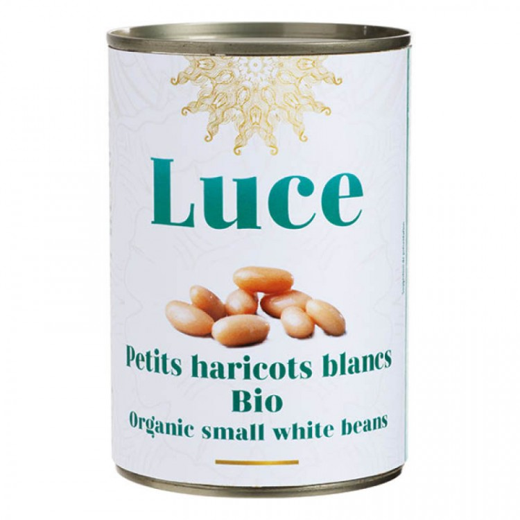 Petits haricots blancs BIO, 400g