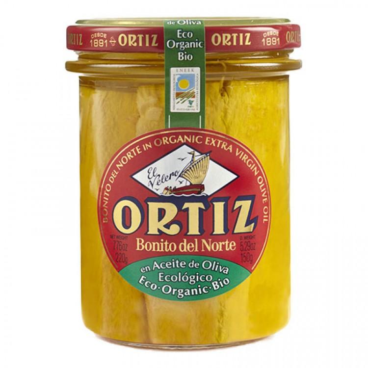 Thon blanc germon à l'huile d'olive BIO, 220g