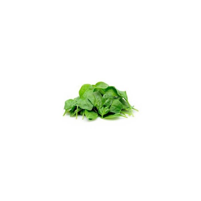 Salade épinard pousse de Grasse BIO, 100g