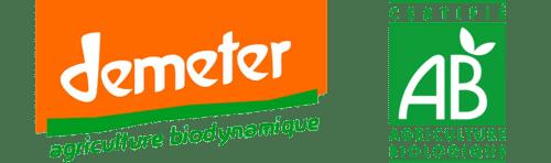 label bio Demeter
